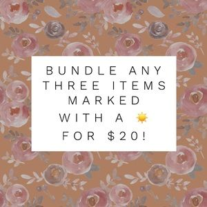 Other - ☀️ 3 for $20 sale! ☀️
